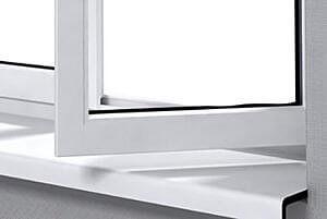 AV Kozijnen vensterbank verkleind